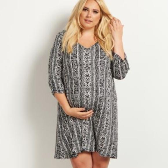 NWT - Pink Blush Plus Size Maternity Dress NWT